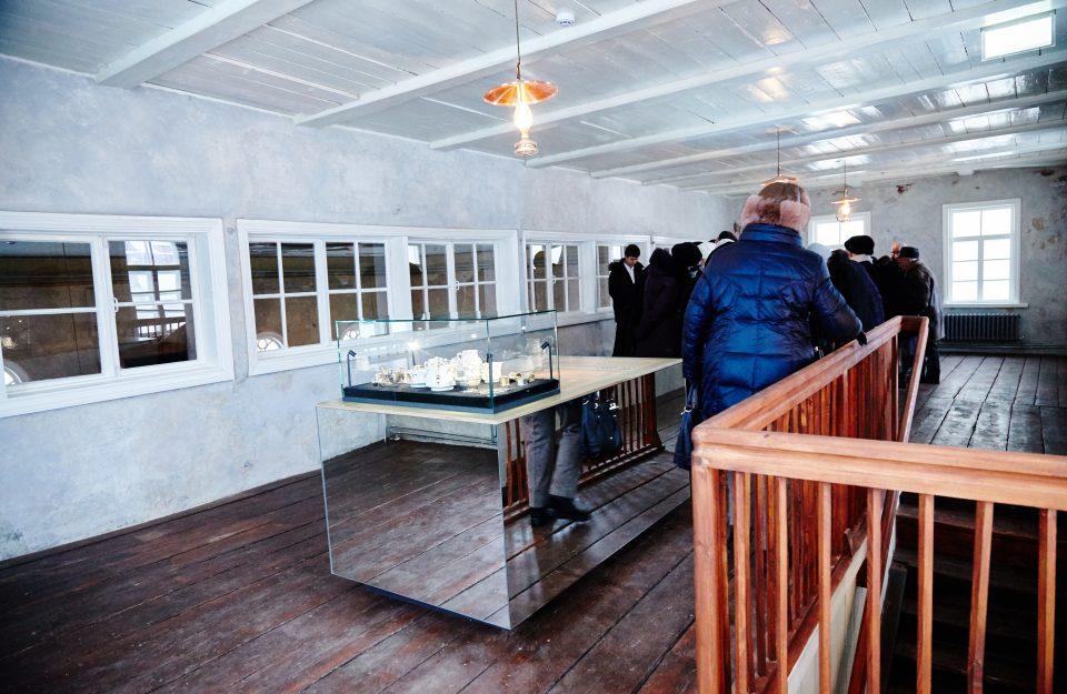 Zaļā sinagoga ir pieejama apmeklētājiem