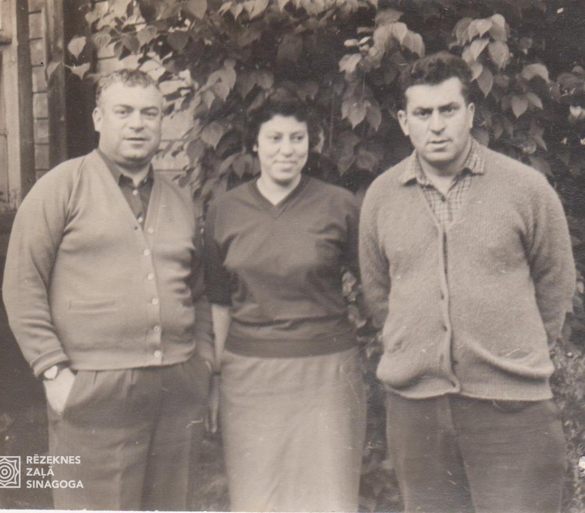 Ерухович Сеня, Ерухович (Вейсман) Хава, Ерухович Лев