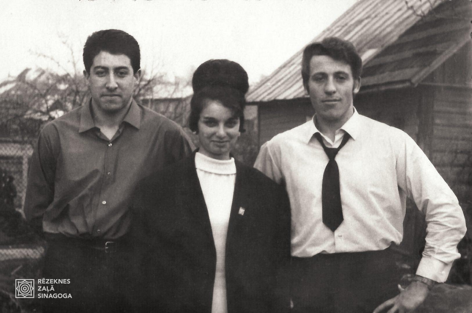 Černobrovs Miša, Breslav Roza, Pliners Jaša