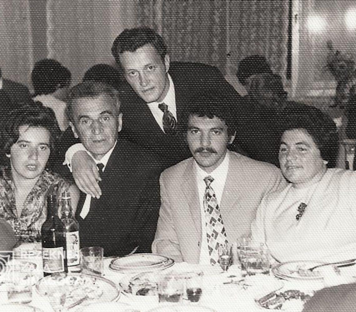 Suhobokova Ļubova, Šrusters Haims, Šrusters Anatolijs, Giršsons Beņa, Giršsone Taņa