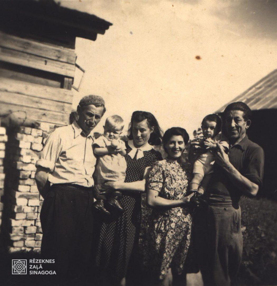 Garber Lev, Garber Ella, Garber Rufa, Černobrovs Jena, Černobrova Etja, Černobrovs Mihails