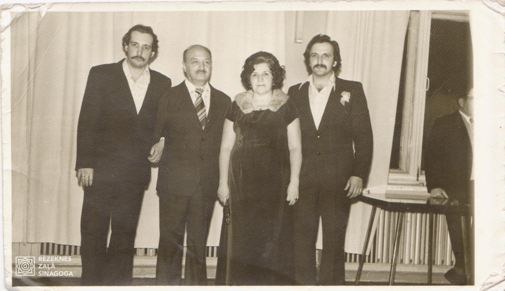 Libermans Izja, Libermans Ļevs, Liberman Sofja, Libermans Iosifs