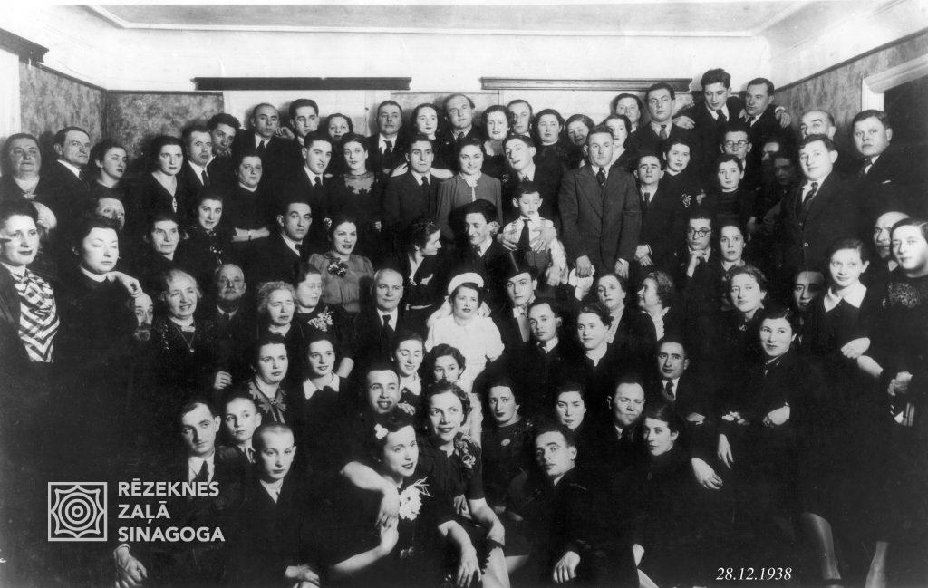 Свадьба Дуси Берзин,Жених-Мендель-Меня Бах-род.1906 в Резекне.Ум.в 1974 в Риге